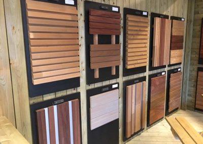 Showroom Pype houthandel - gevelbekleding hout