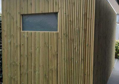 Plaatsing van tuinhuizen - West-Vlaanderen - Bijgebouw in hout - Pype houthandel