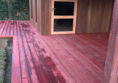 Terras in hout - aanleg - groothandel hout - Pype Houthandel