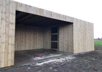 Tuinhuis - fijne houtlatjes - Pype houthandel - Kortrijk