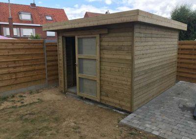 Tuinhuis hout - Menen - Pype houthandel