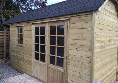 Tuinhuizen voor doe-het-zelvers - Bijgebouw in hout - Pype houthandel - Menen